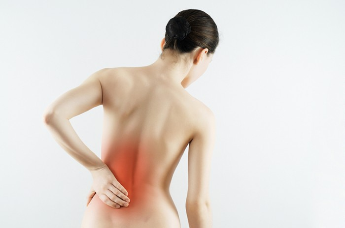 Osteopathy back pain