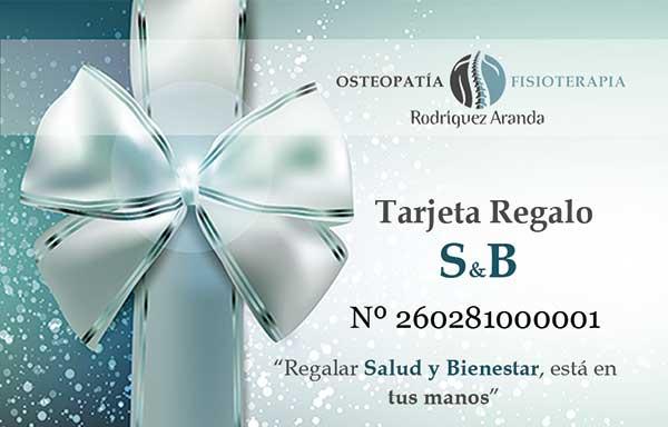 "Tarjeta Regalo ""S&B"""