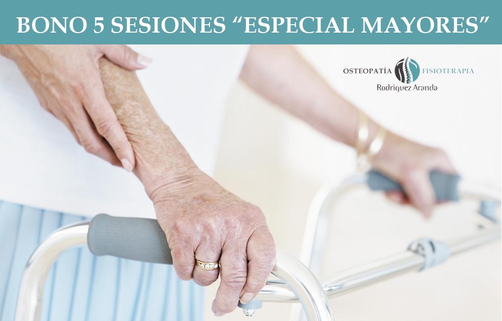 Bono de sesiones para personas mayores
